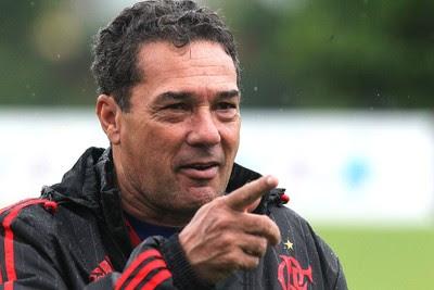 Vanderlei Luxemburgo, treino Flamengo (Foto: Gilvan de Souza / Flamengo)