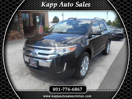 Used 2013 Ford Edge Limited AWD for Sale in Clinton UT 84015 Kapp Auto Sales