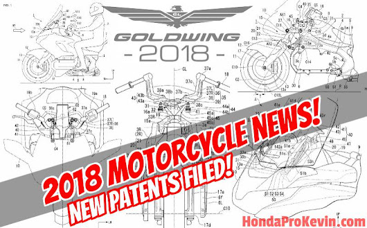 2018 honda gl1800. simple 2018 new 2018 honda goldwing patents just released show changes on the horizon to honda gl1800 e