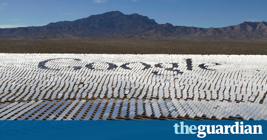 Google to be powered 100% by renewable energy from 2017 | Environment | The Guardian