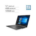 HP 14DF Intel Core i3-8130U 4GB 128GB SSD 14 Full HD 1080p WLED Laptop