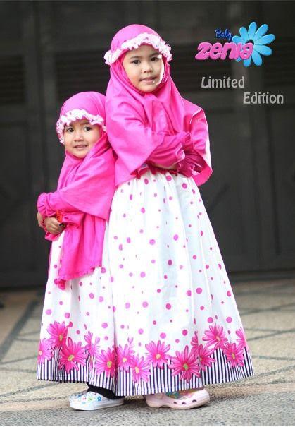 baju kaos anak muslim hijab assessment bahan