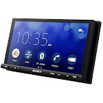 Sony XAV-AX7000 Double DIN Mechless Bluetooth Car Stereo Receiver with Apple CarPlay & Android Auto