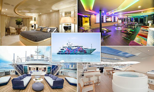 Inside the superyachts chartered by the rich and famous at Cannes