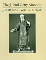 The J. Paul Getty Museum Journal: Volume 24/1996