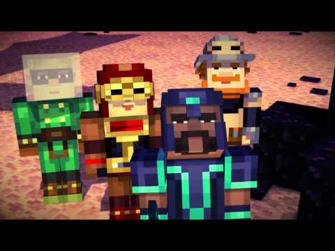 Minecraft: Story Mode Launches Tomorrow