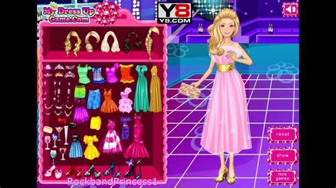 Barbie Prom Queen Game Barbie Dress Up Game   YouTube