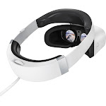 Dell - Visor Virtual Reality Headset for Compatible Windows PCs - White