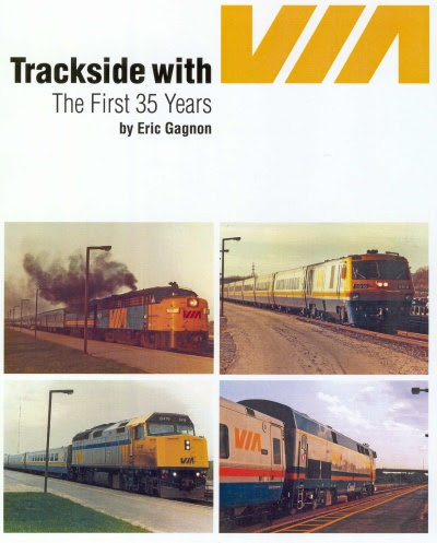 Trackside with VIA