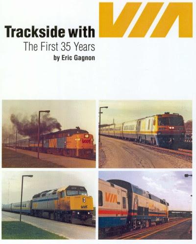 Trackside with VIA