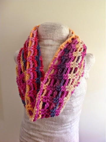 Colors Of Beach Sunset Infinity Scarf