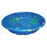 Polygroup Services 234486 59 in. Round Plastic Wading Pool Blue