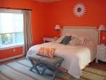 Simple Orange Bedroom for Orange Color Painting Bedroom Ideas with ...