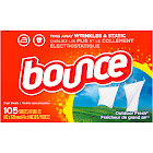 Bounce Outdoor Fresh Fabric Softener Sheets - 105 count