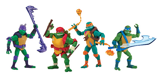 All-New Teenage Mutant Ninja Turtles Toys Rise To Retail Stores – Pop Culture Network