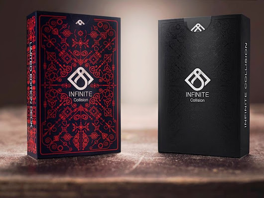 Infinite Collision Playing Cards Deck by Krasimir —  Kickstarter