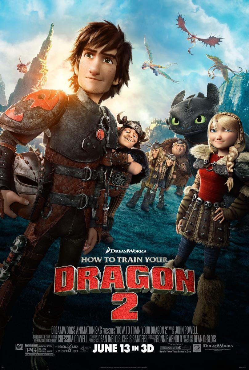 película, como entrenar a tu dragon, dean beblois, cartel, sinopsis, crítica, john powell, roger deakins, cressida cowell, animation, dreamworks animation,