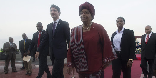 Trudeau Asked About Same-Sex Marriage At Start Of Africa Visit