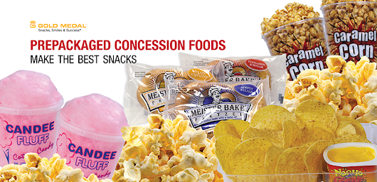 Why Prepackaged Snacks Make the Best Concession Stand Food