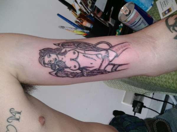 Half Angel Half Devil Tattoo