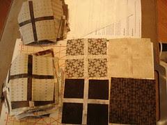 Isotaupe quilt blocks