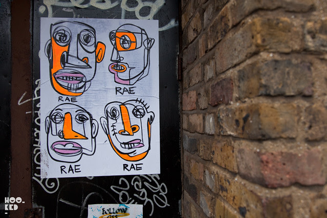Brooklyn Artist RAE hits the streets of London