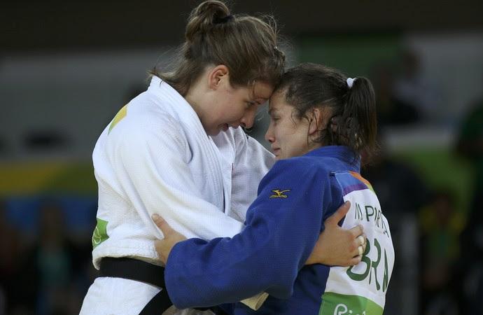 Maria Portela judô (Foto: Reuters/Toru Hanai)