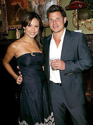 VINTAGE STYLE photo | Nick Lachey, Vanessa Minnillo