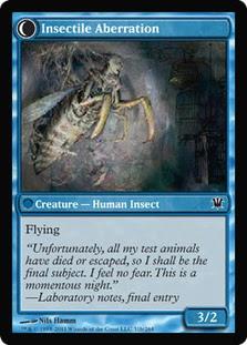 Delver of Secrets | Insectile Aberration