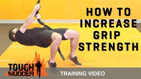 improve grip strength grip training  tough