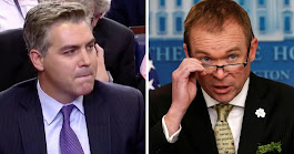Just In: Jim Acosta Tried Blaming GOP For Shutdown, Then Mick Mulvaney Dropped The Hammer