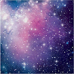 Galaxy Party Lunch Napkin (16) - 95010 - Pack of 16 - Purple