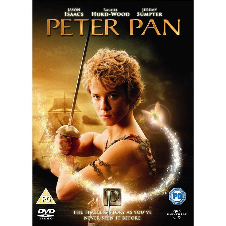 The 2003 version of Peter Pan. Jeremy Sumpter plays Peter; a boy who never wants to grow up but is lonely. (On the plus side, he looks SO MUCH like Ross Lynch[Teen beach Movie; Austin  Ally] which is super cool!) One night, Peter ventures into Wendy Darling's room and thus, the adventure of a lifetime begins!