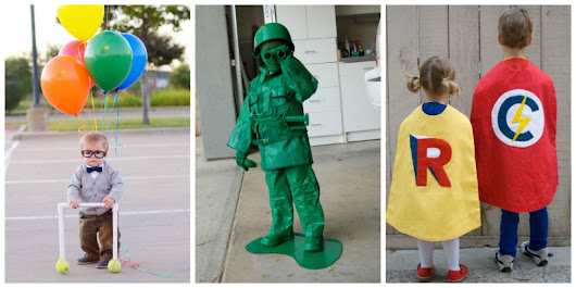 27 Homemade Halloween Costumes for Kids - Easy DIY Kids Halloween Costumes