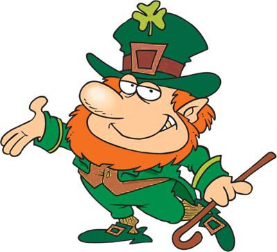 Leprechaun - Irish Symbol ***