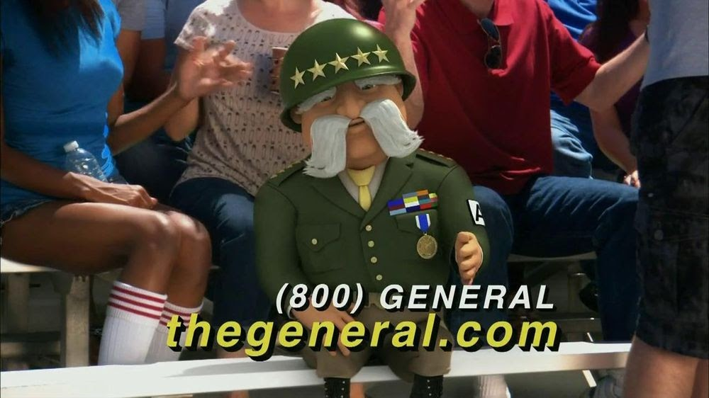 The General Car Insurance: Insurance Company: The General Auto Insurance Commercial