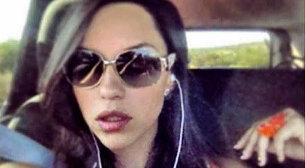Andrea Benítez, hija del titular de la Profeco. Foto: Tomada de Twitter.