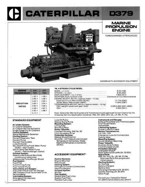 Caterpillar C32 Marine Engine Manual Pdf
