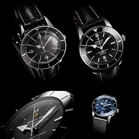 Celebrating 60 years of the Breitling Superocean
