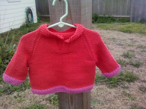 Placket-Neck Sweater outside