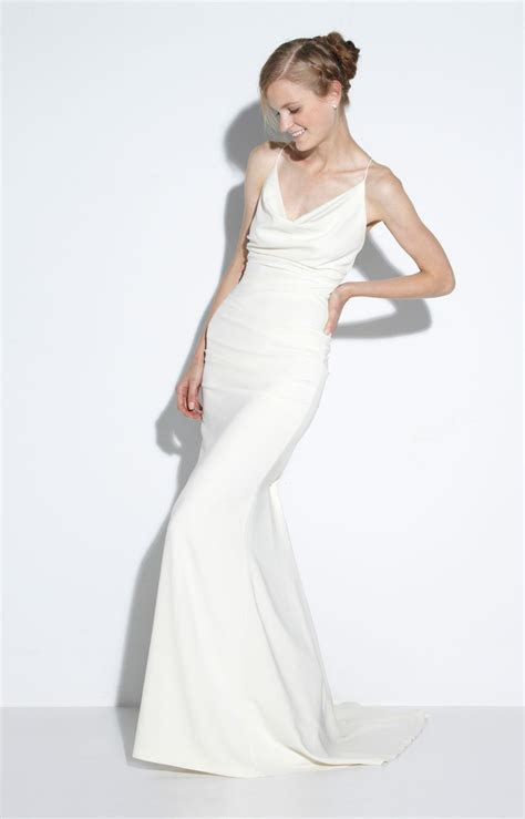 Nicole Miller Tara Bridal Gown in White   Lyst