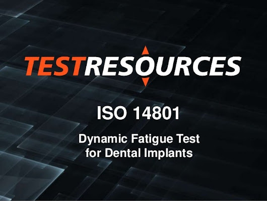 ISO 14801 Dental Implant Fatigue Test Equipment