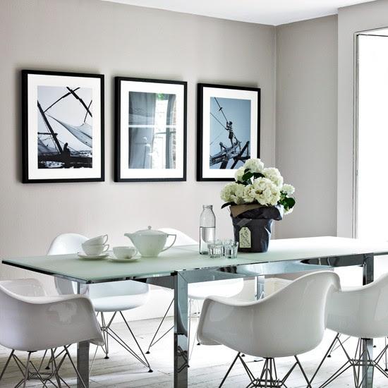 Cool grey dining room | housetohome.co.uk