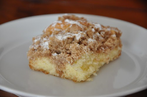 New York Crumb Cake With Pecans