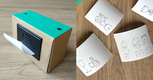This Instant Camera Takes Pictures and Prints Them as Cartoons