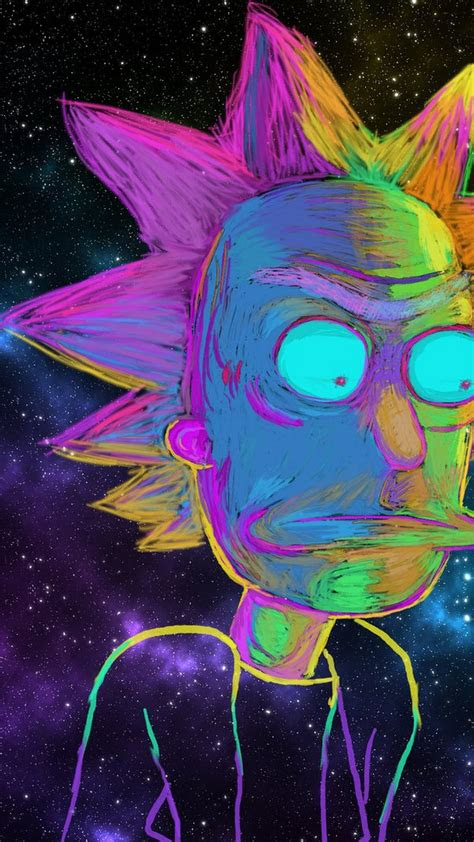 wallpaper rick  morty iphone hd full size