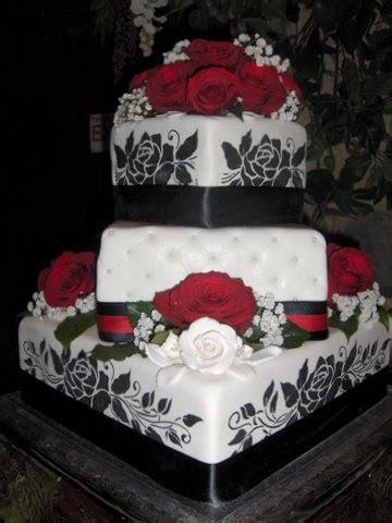 17 Best images about Wedding Cakes on Pinterest   Red cake