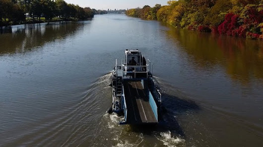 Meet the crew who cleans up the Passaic River