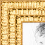 20x24 Bright Gold Wood Picture Poster Frame for 24x20 Photo WOM-D11109-20x24 by ArtToFrames
