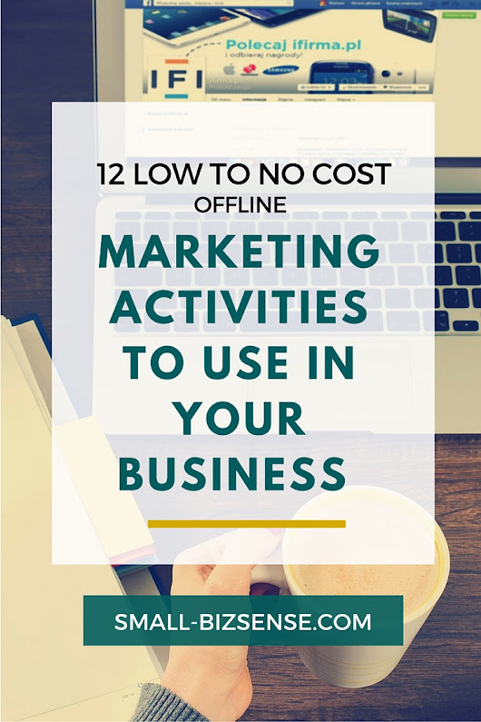 12 Budget Friendly Offline Marketing Activities for Small Businesses